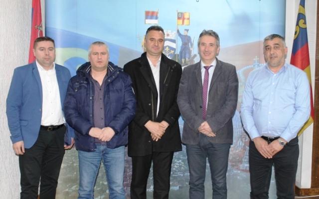 Delegaciju predvodio načelnik Kosovsko-pomoravskog okruga Radovan Stojković. Foto Grad Vranje.