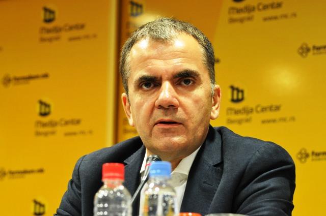 Izveštaj o službenoj upotrebi albanskog jezika i pisma: Zoran Pašalić. Foto MC Beograd