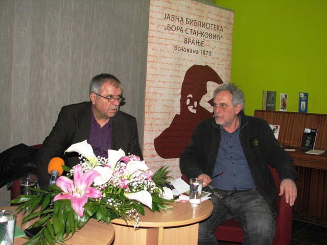 Ne verujem u to da će poezija nestati: Blagoje Savić. Foto VranjeNews