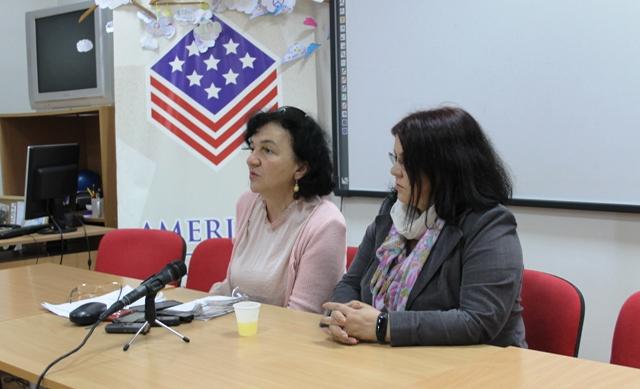 Ljiljana Stojanović i Nela Dimitrijević. Foto VranjeNews