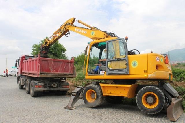 Počela rekonstrukcija Radničke ulice. Foto Grad Vranje