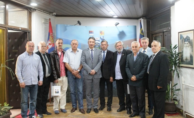 Prijem za dve boračke organizacije. Foto Grad Vranje
