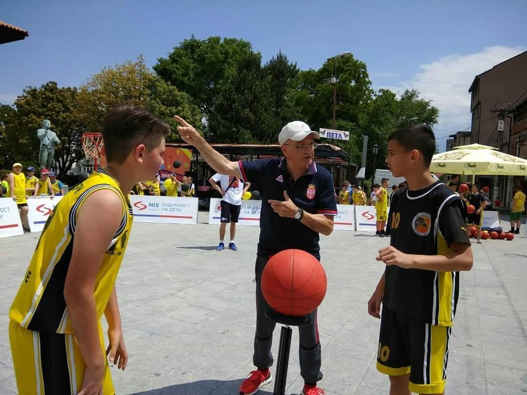 Prvi Međunarodni mini basket festival u Vranju. Foto KK Panteri