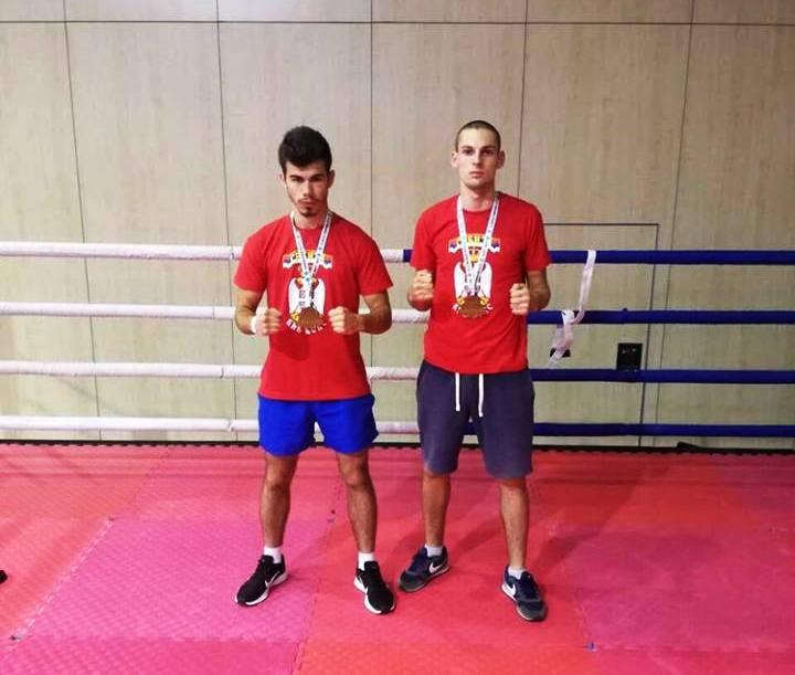 Dve bronzane medalje za Vranjance. Foto Grad Vranje