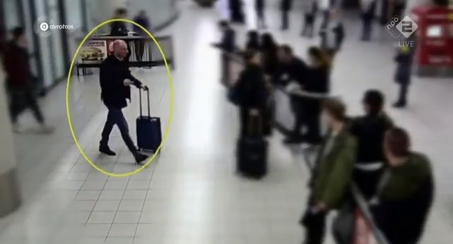 Gokče ubijen 15. marta, sat vremena nako sletanja na aerodrom u Amsterdamu. Foto screenshot