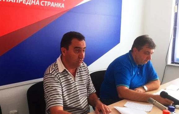 Mitrović i Milković. Foto Bujanovačke