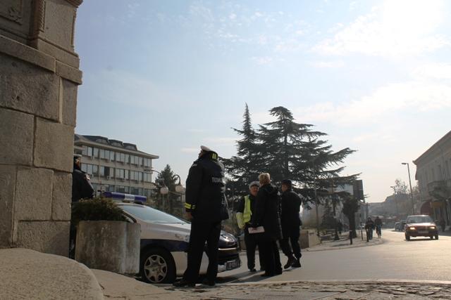 Pune ruke posla za policiju u vreme vikenda. Foto VranjeNews