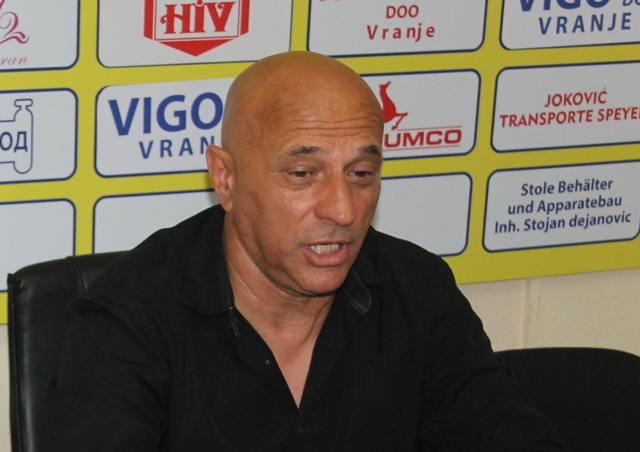 Vreme radi za nas: Dragan Antić. Foto VranjeNews