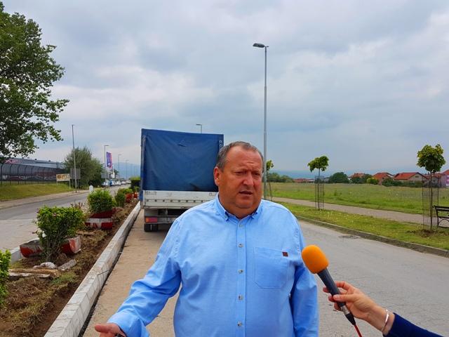 Kompletna Lungina biće završena za mesec dana: Dejan Stanojević. Foto VranjeNews