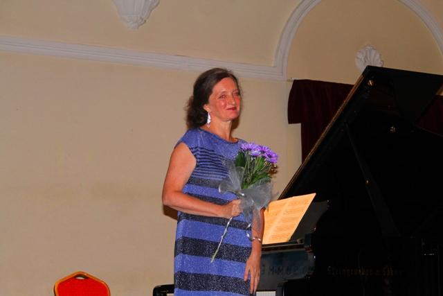 Sylvie Nicephor na završnoj večeri Piano summer-a