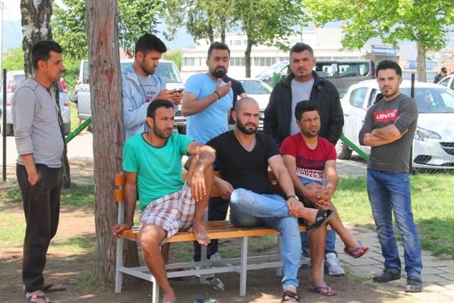 Migranti u prihvatnom centru u Vranju. Foto VranjeNews