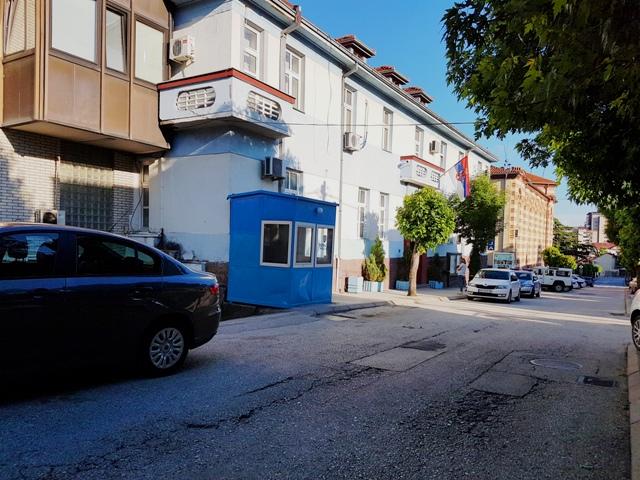 Zgrada Policijske uprave u Vranju. Foto VranjeNews