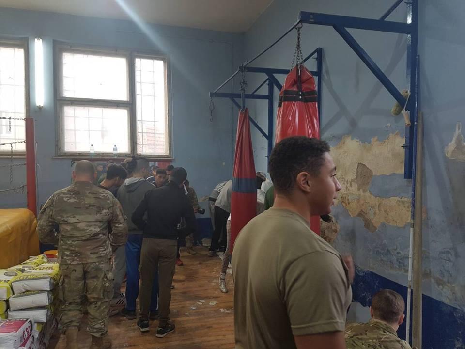 Amerikanci i Vranjanci na zadatku. Foto Grad Vranje