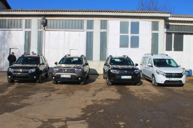 Nova vozila za terenske ekipe. Foto VranjeNews