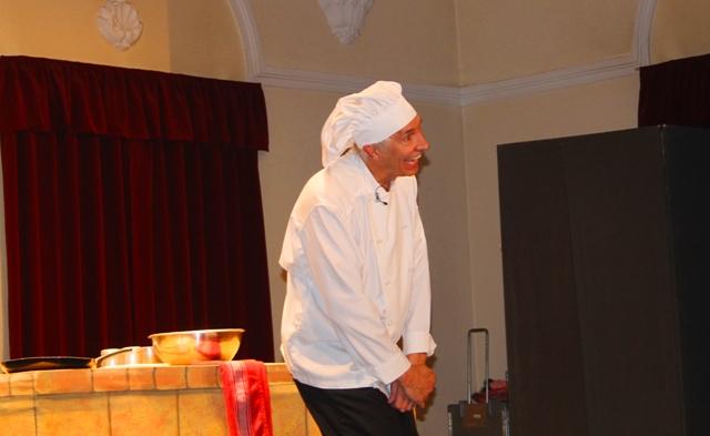 Robert Post kao kuvar Pasquale. Foto VranjeNews
