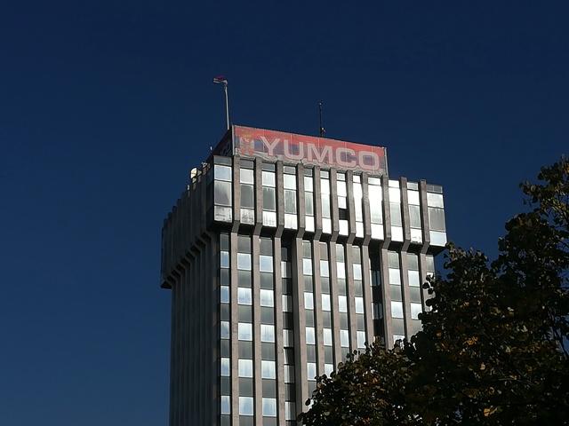 Upravna zgrada Jumka u Vranju. Foto VranjeNews