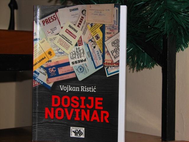 Koricu nove Ristićeve knjige uradio je Miodrag Dejanović. Foto VranjeNews