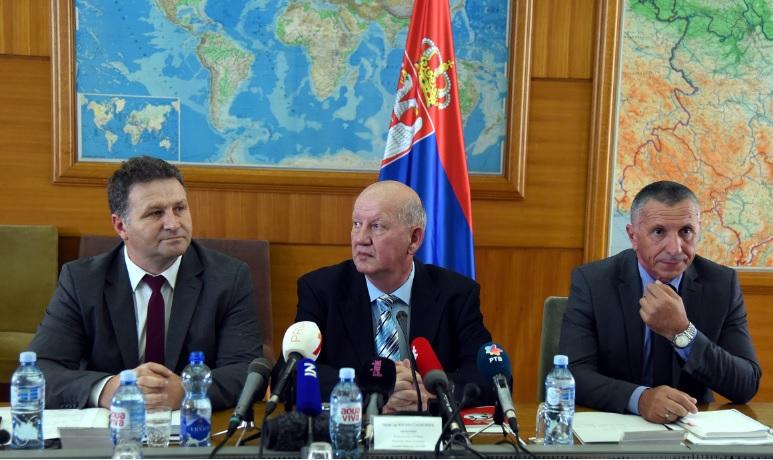 Sa jedne od sednica Predsedništva Koordinacionog tela za jug Srbije. Foto Koordinaciono telo