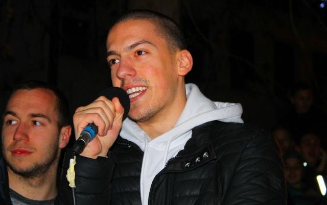 Bogdan Ilić aka Baka Prase. Foto VranjeNews