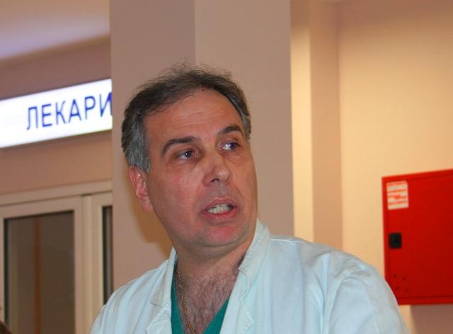 Upravnik bolnice u Vranju Saša Đorđević. Foto VranjeNews