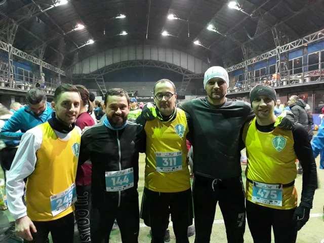 Vranjanci na Zimskom polumaratonu. Foto AK Vranjski maratonci