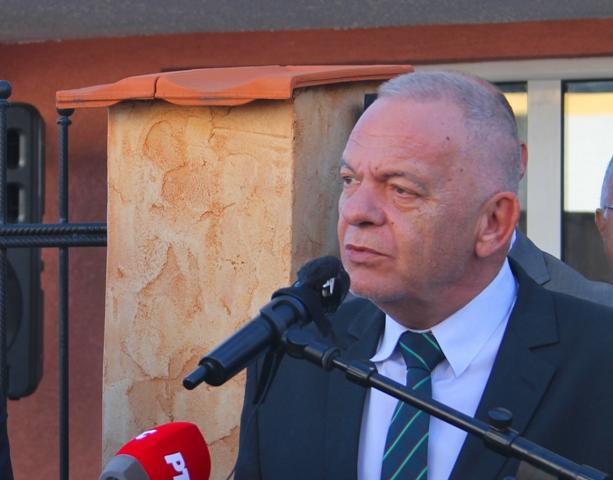 Ambasador Bugarske Radko Vlajkov na otvaranju BSC-a u Vranju. Foto VanjeNews