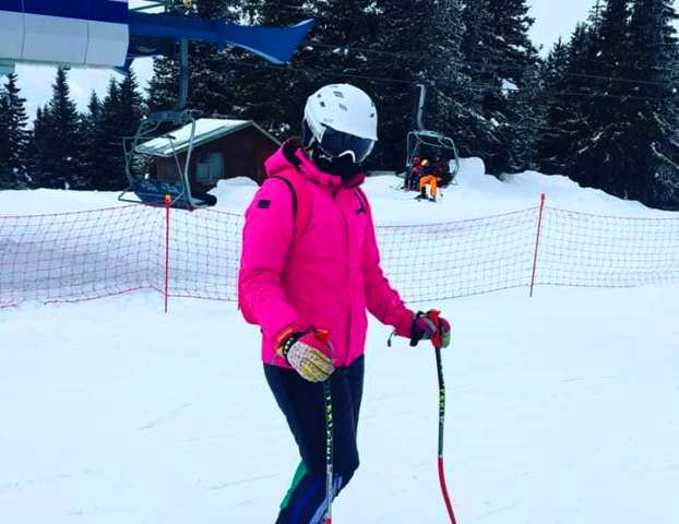 Dunja Arsić. Foto Ski klub Besna kobila