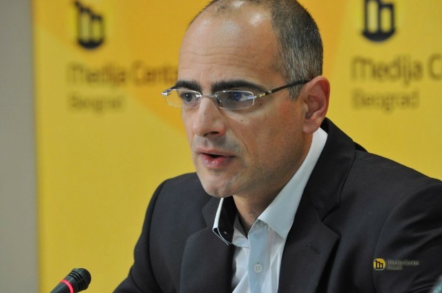 Izgradnja stadiona koštaće 1.500 evra po jednom mestu: Marko Blagojević. Foto MC Beograd
