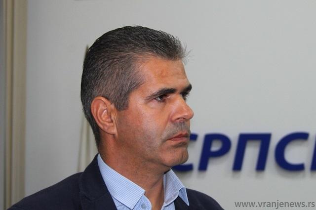 Dušan Aritonović. Foto VranjeNews
