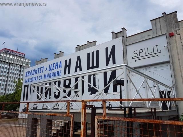 Radnici u pogonu u Vranju danonoćno čuvaju mašine. Foto VranjeNews