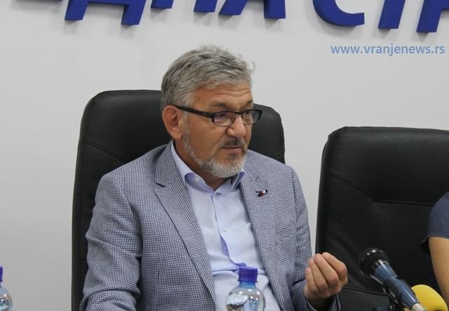 Mi ne nalazimo izgovore, mi rešavamo probleme: Goran Đorđević. Foto VranjeNews