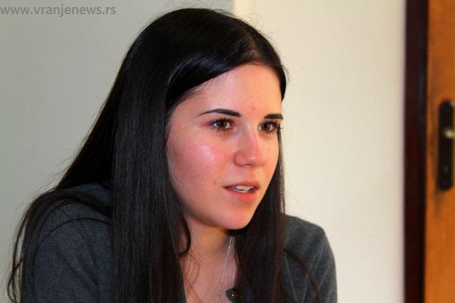 Emilija Ničić. Foto VranjeNews