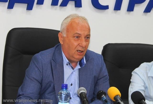 Zoran Dimitrijević. Foto VranjeNews