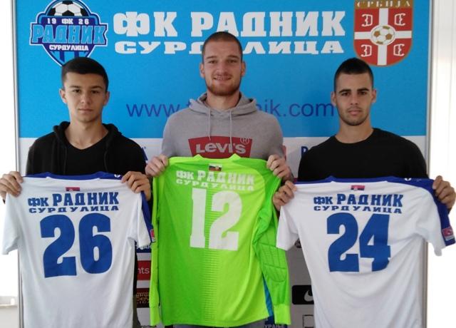 Sead Islamović (levo). Foto FK Radnik