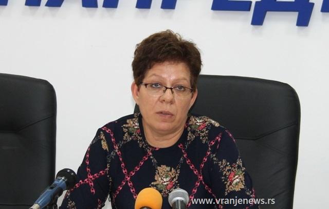 Radno sposobni mesečno primaju više od 5.000 dinara: Danijela Milosavljević. Foto VranjeNews