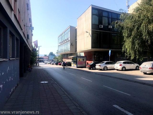 Ulica 29. novembra u Vranju. Foto VranjeNews