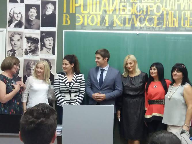 Poseta gimnaziji u vreme festivala Most 2018. Foto VranjeNews