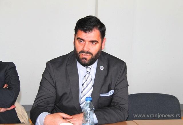 Ragmi Mustafa. Foto VranjeNews