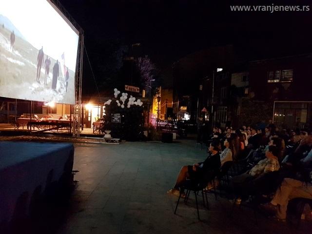 Detalj sa projekcije prvog filma. Foto VranjeNews