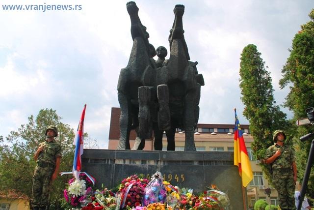 Sa prošlogodišnjeg obeležavanja Dana oslobođenja Vranja. Foto VranjeNews