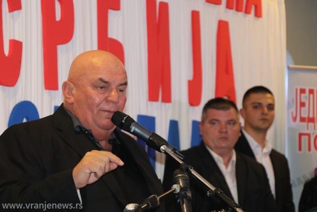 Dragan Marković Palma. Foto VranjeNews