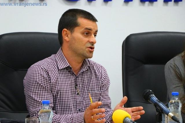Miroslav Đerić. Foto VranjeNews