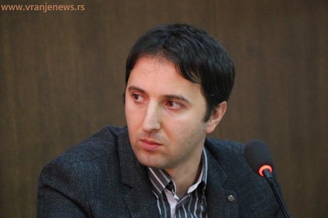 Naplata javnih prihoda u povećanju: Bojan Kostić. Foto VranjeNews