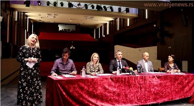 Detalj sa konferencije za medije. Foto VranjeNews
