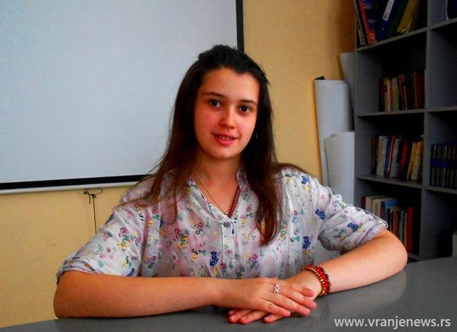 Mihaela Milenković. Foto VranjeNews