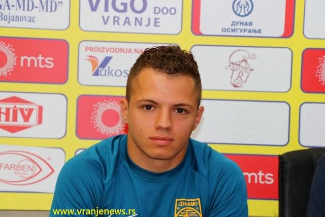 Vladimir Radočaj optimista pred Bačku. Foto VranjeNews