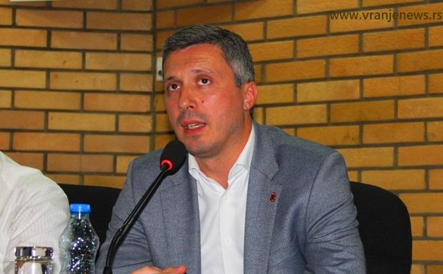 Boško Obradović. Foto VranjeNews