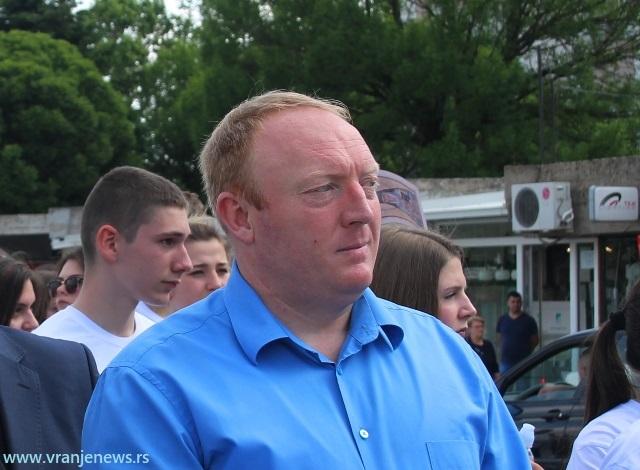 Nenad Krstić, predsednik opštine Trgovište. Foto VranjeNews