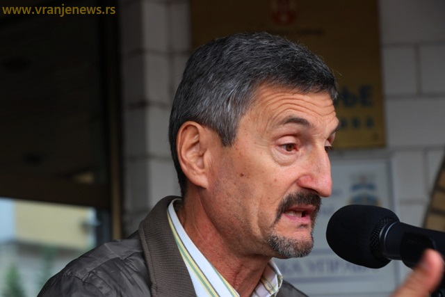 Svojevremeno vođa protesta radnika Ei Niš: Radiša Spasić. Foto VranjeNews