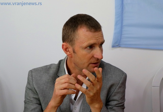 Tvrdi da su njegove namere bile najbolje: Dragan Spasić. Foto VranjeNews